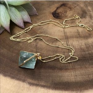 NWT Fluorite Necklace